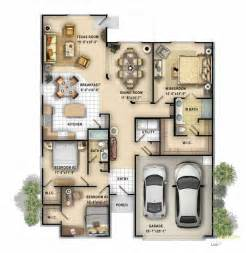 Marvelous Program For Designing Houses #9: 2-Storey-House-Designs-with-Floor-Plans-3D-Image-Intending-to-Build-13.jpg