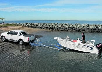 driving boat onto trailer fishing monthly magazines tips for the novice boater