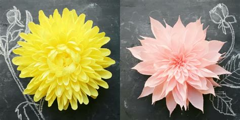 Crepe Paper Flower - crepe paper flower headpieces by featured artist tiffanie