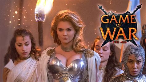 kate upton features in trailer for game of war fire age game of war live action trailer ft kate upton quot who i am