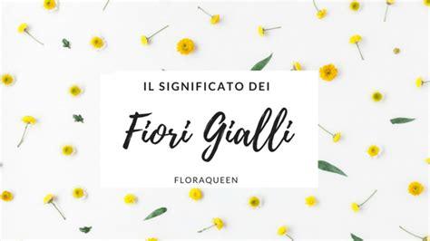 simbolo dei fiori qual 232 il significato dei fiori gialli
