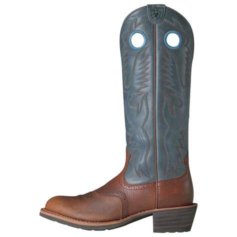 ariat mens heritage boots s ariat 174 16 quot heritage buckaroo western boots 109968