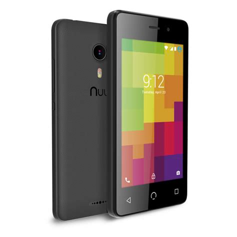 nuu a1 plus black a1 4g android smartphone by nuu mobile