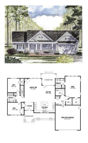 cool house plans craftsman craftsman house plan 94182 total living area 1720 sq ft 3 bedrooms and 2 bathrooms