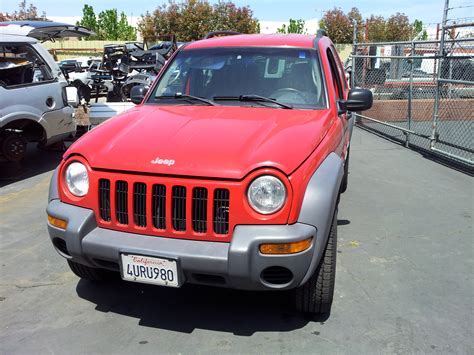 used jeep liberty used salvage parts 2002 jeep liberty sport 4x4 3 7l v6 4