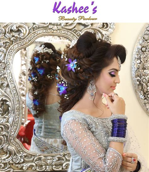 kashee s kashees beautiful bridal hairstyle makeup beauty parlour