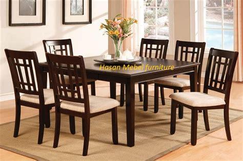 Meja Makan Kursi 6 meja makan minimalis 6 kursi