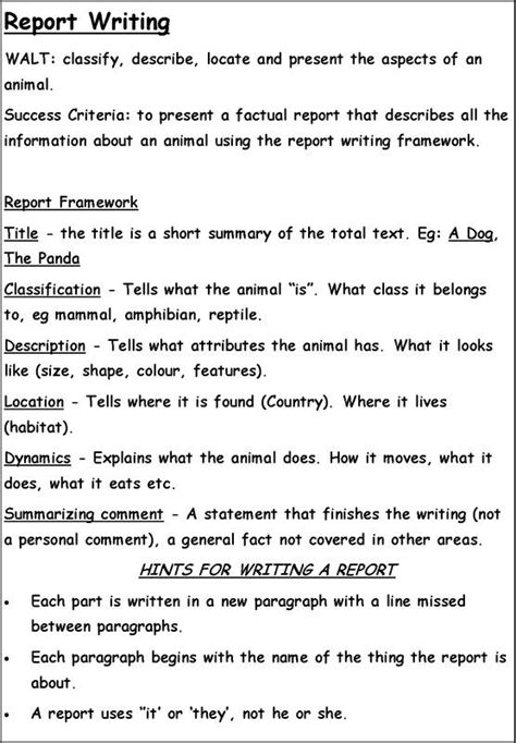 report writing sle pdf sle of report writing for students 28 images writing