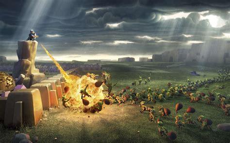 wallpaper animasi clash of clans wallpapers de clash of clans para celular tablet e pc