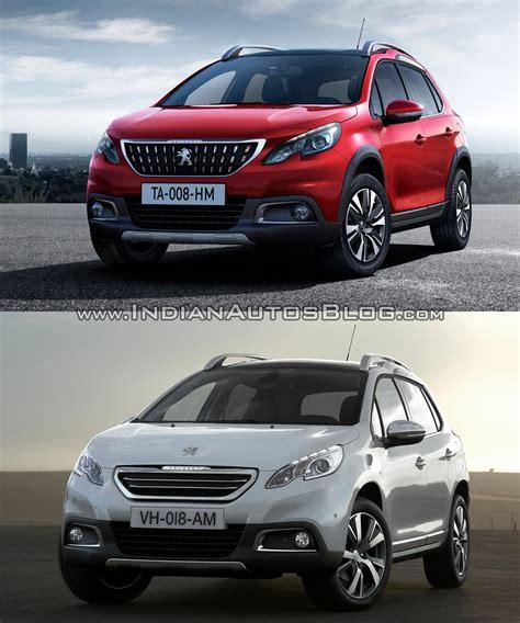 peugeot new models 2016 2016 peugeot 2008 old vs new