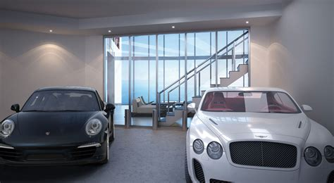 Apartment Building With Car Elevator Porsche Design Tower Miami To Rise High With Auto