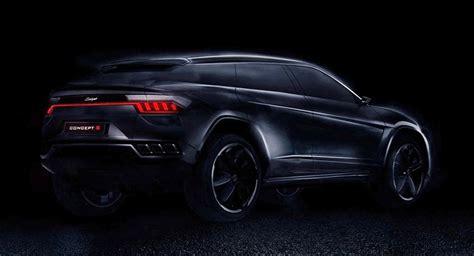 Lamborghini Macan Zotye S Concept S Is A Lamborghini Urus Copy For China