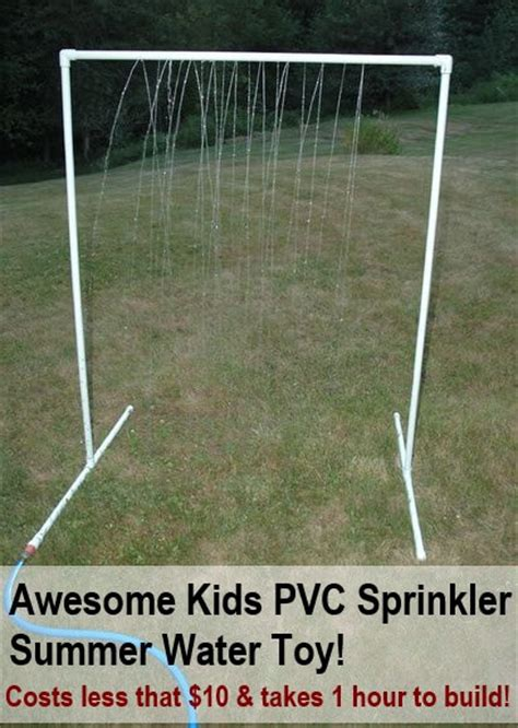 pvc sprinkler water toy awesome cheap diy kids pvc sprinkler summer water toy