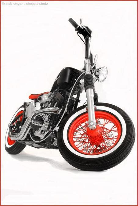 Motorrad Umbau Chopper by Umbau Skinny Bastard Chopper
