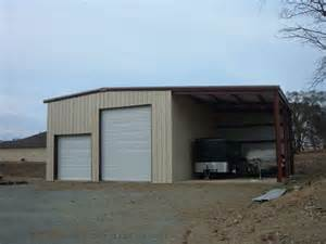 Metal Carport With Shop Metal Garages For Sale Prices On Steel Garages