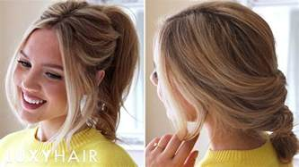 www hair stlyes photos 3 easy running late hairstyles youtube
