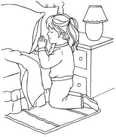 coloring pages prayer coloring page praying children to