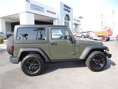 Jeep Wrangler Willys Edition 2015 Jeep Wrangler Willys Wheeler Edition T3136