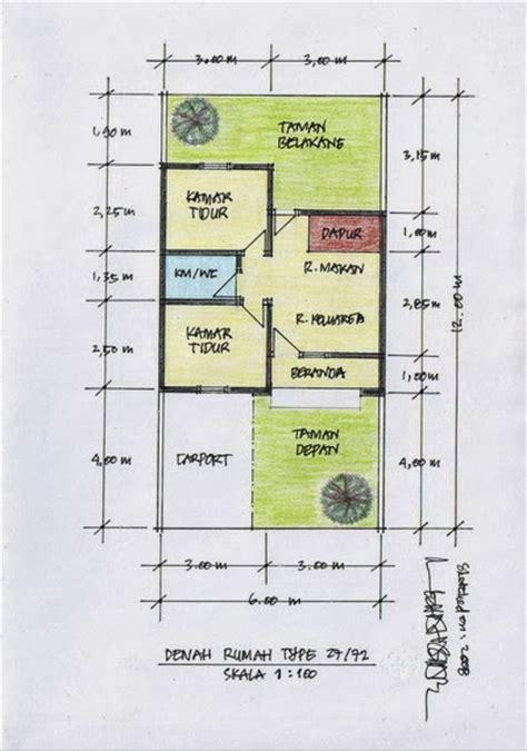 desain gambar denah rumah moved permanently