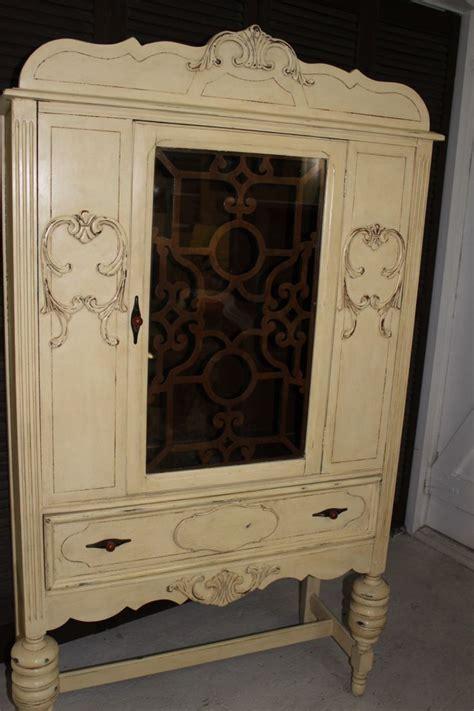 chalk painted antique china cabinet antique china cabinet i painted with annie sloan chalk