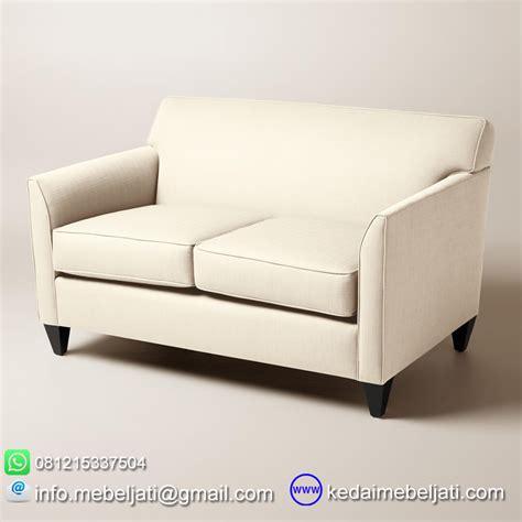 Sofa Jati Minimalis beli sofa minimalis jati seri stella loveseat 2 dudukan