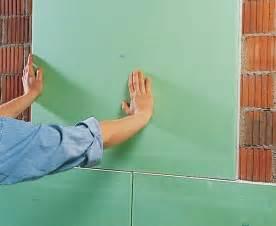 knauf renovierboard gipskartonplatten kleben statt verputzen bauen de