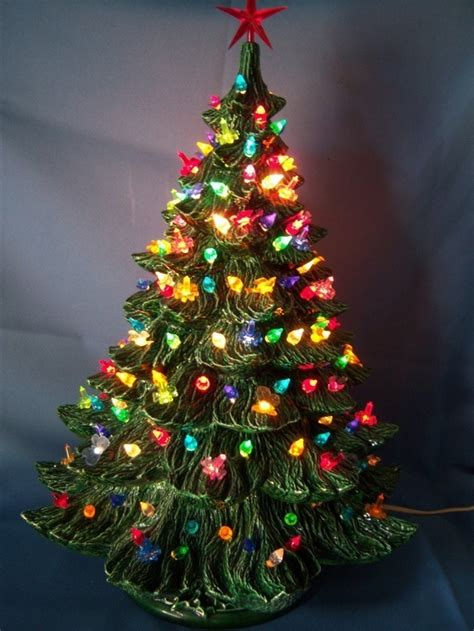 pin by kathy luty on ceramic christmas trees pinterest
