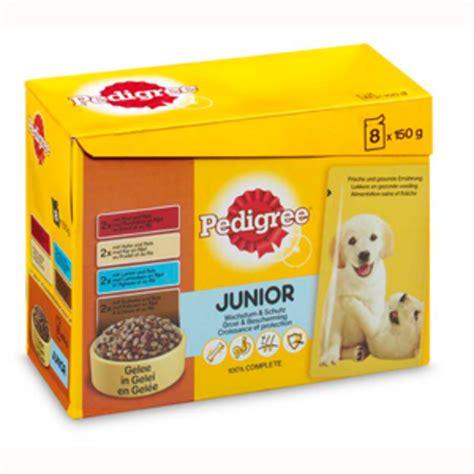 puppy gram dierspullen nl pedigree pouch puppy multipack 8x150 gram pedigree natvoer misc
