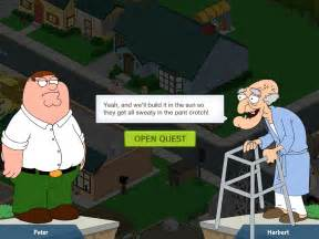 pics of stuff doing the dirty simpsons with family guy s quest for stuff