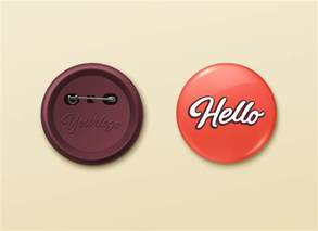 pin button badge mockup graphicburger
