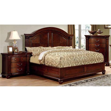 3 piece queen bedroom set furniture of america sorella 3 piece queen panel bedroom