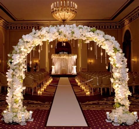 Indoor Wedding Arch Uk by Pictures Of Wedding Ceremony Decorations Inspired