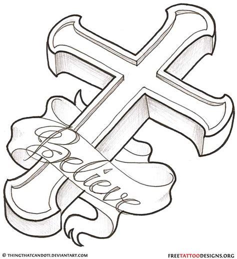 cross tattoo line art 50 cross tattoos tattoo designs of holy christian