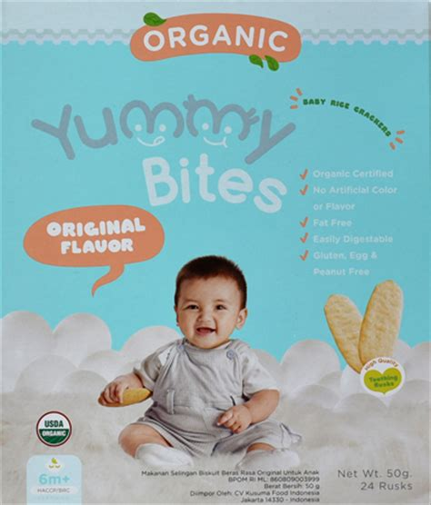 Bites Organic Carrot Flavor bites your number one baby favorite snack