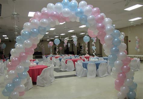 How To Decorate A Baby Shower by Baby Shower Balloon Decor Favors Ideas