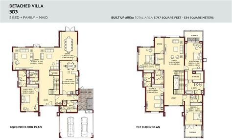 lantana floor plan floor plans villa lantana al barsha by tecom investments
