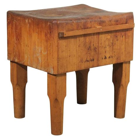 butcher block tables american butcher block table at 1stdibs