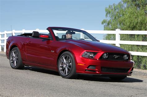ford convertible 2014 ford mustang gt convertible first test motor trend