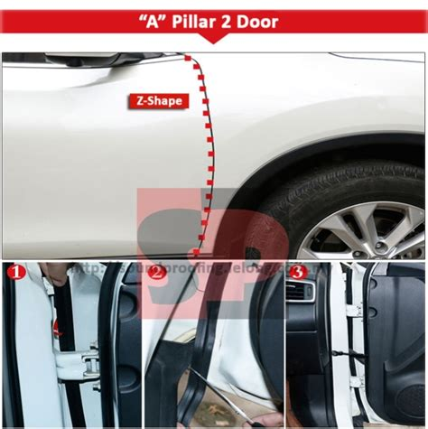 malaysia rubber st 8th generation 3m vhb car door sound proof rubber seal