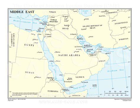 middle east map gulf gulf map middle east