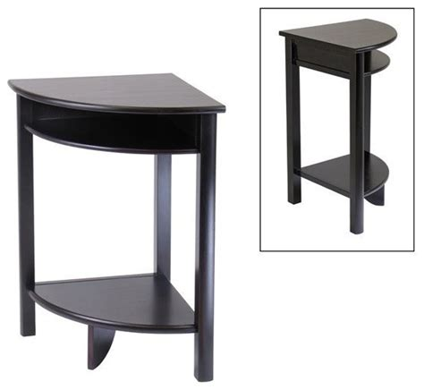 Corner Side Table Winsome Wood 92720 Liso Corner End Table Contemporary Side Tables And End Tables By Living