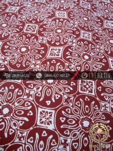 Spidol Kelir 12 Warna jual batik cap motif ceplok kelir coklat kelengan thebatik co id