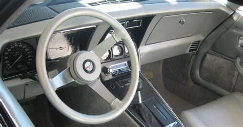 1978 Corvette Interior by 1978 Corvette C3 New Fastback Design Debuts 25th