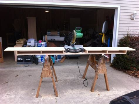 drop saw bench make a miter saw work station part 1 thisiscarpentry