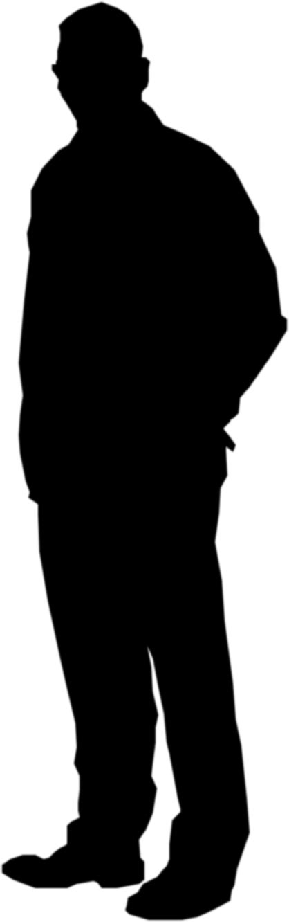chagne silhouette png standing silhouette left labour25