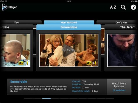 itv player for android itv player app android tablet
