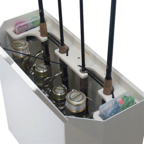 fishing boat storage accessories homemade boat rod storage holders car interior design