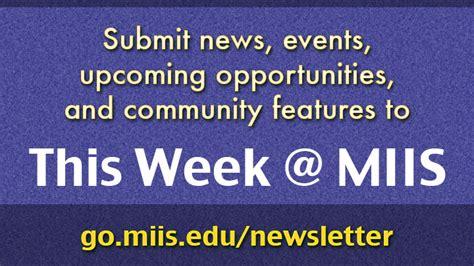 Miis Mba Iep Start Date by Submit To This Week Miis Dot Miis