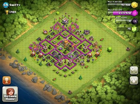 free layout coc 21115 best clash of clans base images on pinterest base