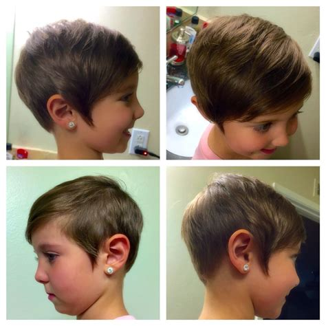 Hairstyles Like On by Toddler Pixie Haircut Asymmetrical Hair